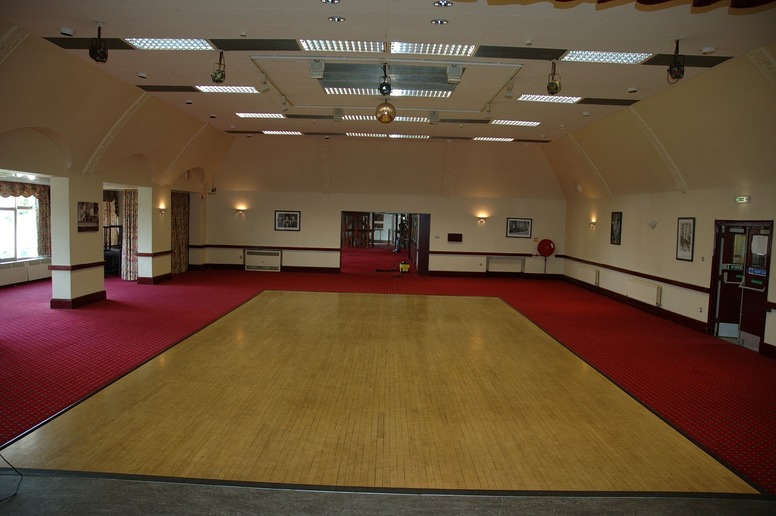 indoor space for the boot camp