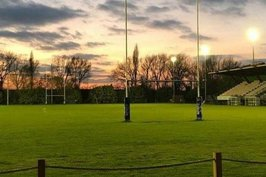 the number one floodlit rugby pitch at imber court