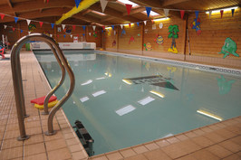 the swimming pool at imber court